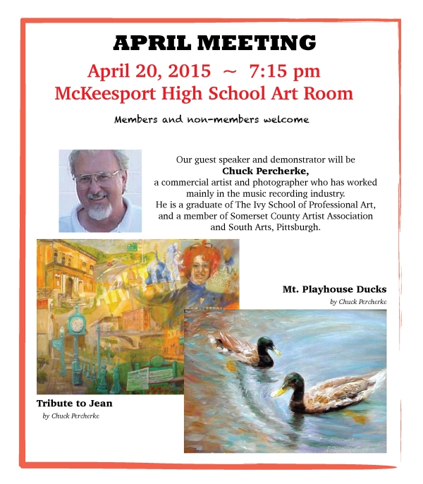 April Meeting Notice