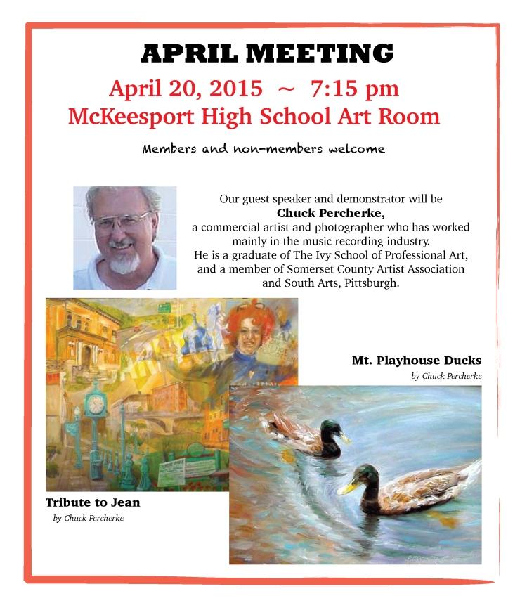 April Meeting Notice