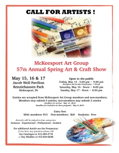 MAG Annual Spring Art and Craft Show