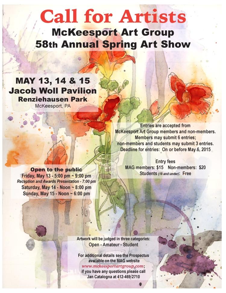 MAC Art Show - CALL FOR ARTISTS