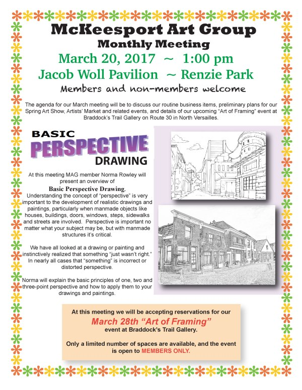 McKeesport Art Group   Open to all Mon Valley area artists   Page 4