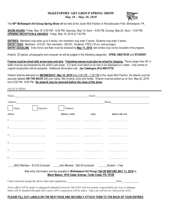 MAG 2018 Entry Form1